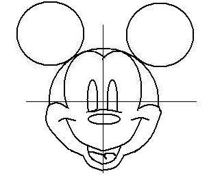 ディズニーの噂・裏技・裏話_ミッキーの描き方(書き方)手順5