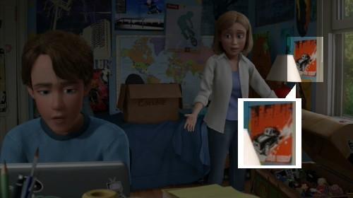 ディズニーの噂・裏技・裏話_トイ・ストーリー3に登場するカーズ2の「Finn McMissile」
