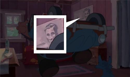 ディズニーの噂・裏技・裏話_リロ&スティッチに登場する謎のポスター