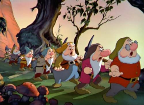 ディズニーの噂・裏技・裏話_白雪姫に登場する7人の小人