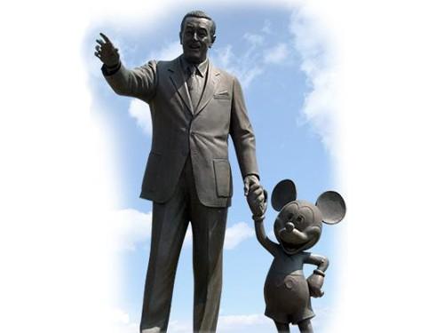 ディズニーの噂・裏技・裏話_ウォルト・ディズニーとミッキーマウス