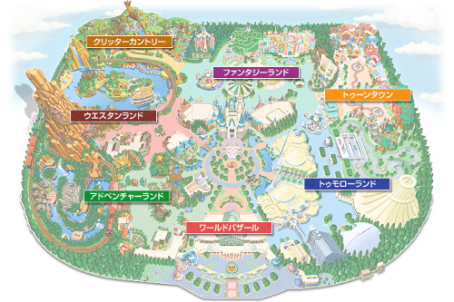 ディズニーの噂・裏技・裏話_東京ディズニーランドのテーマランド