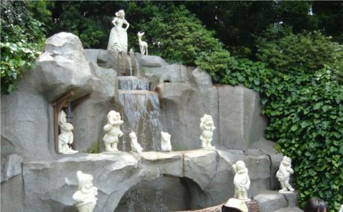 ディズニーの噂・裏技・裏話_白雪姫の祈りの泉