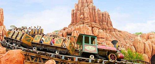 ディズニーの噂・裏技・裏話_ビッグサンダー・マウンテンは右側に乗ったほうがスリルが味わえる