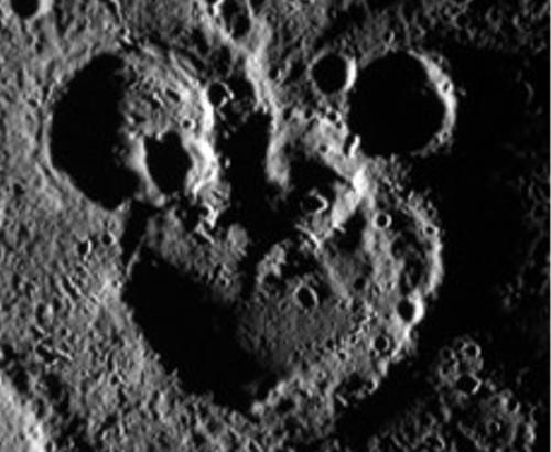 ディズニーの噂・裏技・裏話_水星で発見された隠れミッキー