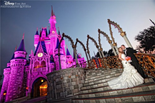 ディズニーの噂・裏技・裏話_シンデレラ城の結婚式