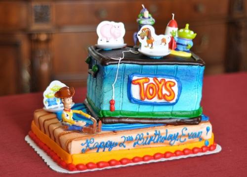 トイ・ストーリーなケーキ