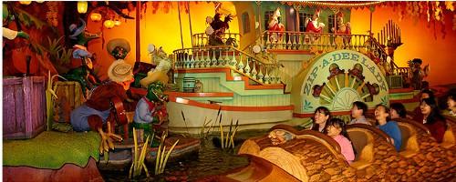 ディズニーの噂・裏技・裏話_東京ディズニーランドのスプラッシュ・マウンテンは世界で一番全長が長い