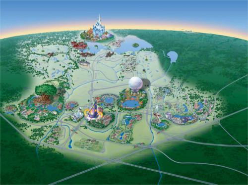 ディズニーの噂・裏技・裏話_フロリダのウォルト・ディズニー・ワールド・リゾートはとんでもなく広い