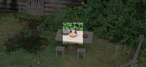 ディズニーの噂・裏技・裏話_マークトウェイン号から見える燃える小屋の隠れミッキー
