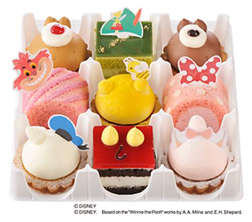ディズニーの噂・裏技・裏話_銀座コージーコーナーでディズニーキャラクターをモチーフにした「ディズニーコレクション」を限定発売