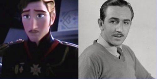 ディズニーの噂・裏技・裏話_アナとエルサの父親がウォルト・ディズニーに似ていると話題に