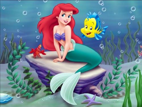 ディズニーの噂・裏技・裏話_リトル・マーメイドのアリエルはなぜ赤毛なのか