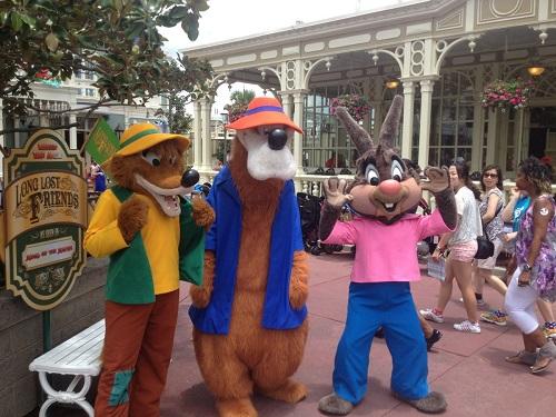 ディズニーの噂・裏技・裏話_スプラッシュ・マウンテンのあの3人のキャラクターは実は仲が悪い