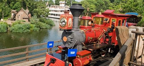 ディズニーの噂・裏技・裏話_ウエスタンリバー鉄道では右側に乗ったほうがいい