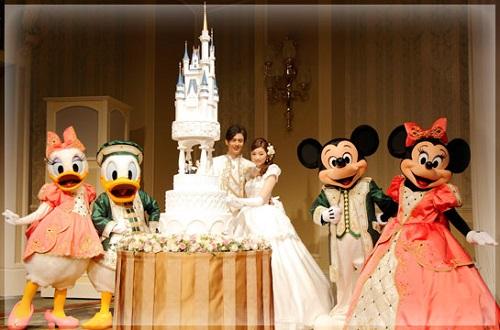 ディズニーの噂・裏技・裏話_ウェディングケーキにも隠れミッキーがいる