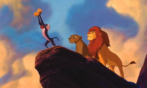シンバ誕生ライオンキング