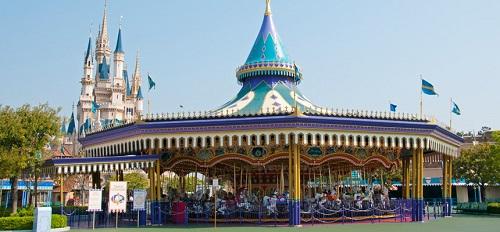 ディズニーの噂・裏技・裏話_キャッスルカルーセルの木馬は外側と内側で大きさが違う