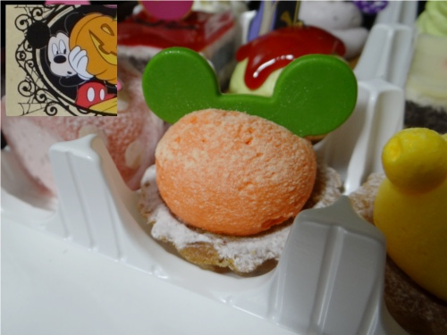 ディズニーの噂・裏技・裏話_ハロウィーン限定プチケーキセット(銀座コージーコーナー)