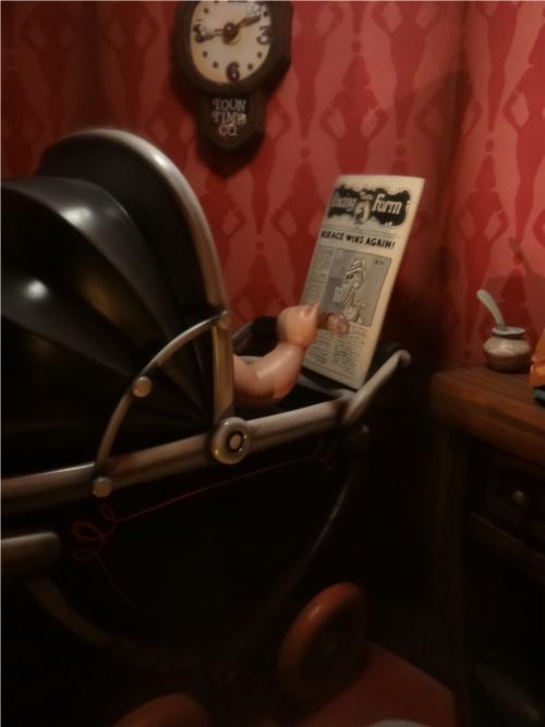 ディズニーの噂・裏技・裏話_「ロジャーラビットのカートゥーンスピン」に隠れホーレス・ホースカラー