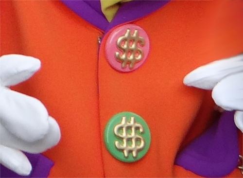ディズニーの噂・裏技・裏話_トゥーンタウンのスクルージおじさんが着ているジャケットのボタンが〇〇になっている