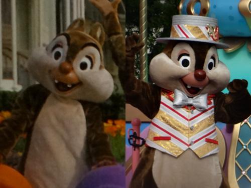 今と昔(1980年代)のディズニーキャラクターを比較!(ドナルド、デイジー、グーフィー、チップ、デール)