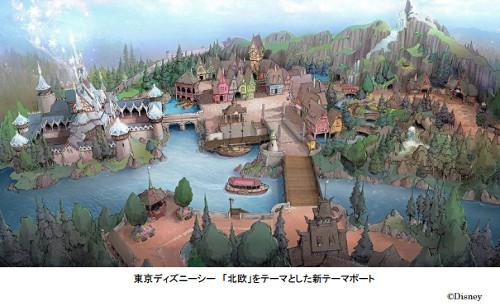 ディズニーの噂・裏技・裏話_ディズニーシーにアナ雪の新テーマポート!アレンデール城が世界で初めて建設されるかも