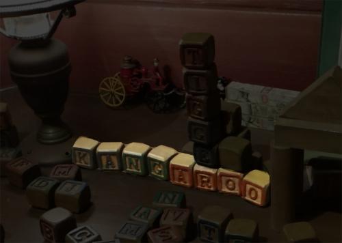 ディズニーの噂・裏技・裏話_「プーさんのハニーハント」の出口にあるディスプレイに隠れキャラクター