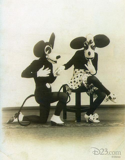 ディズニーの噂・裏技・裏話_【閲覧注意】1930年代のミッキー・ミニーが怖すぎる