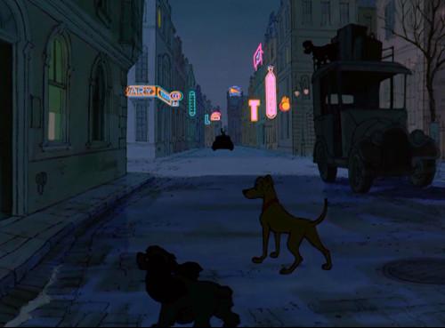 ディズニーの雑学・トリビア・裏話_「101匹わんちゃん」に「わんわん物語」のキャラクターが登場