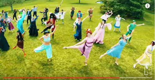 ディズニーのトリビア・裏話_ディズニーキャラクターがテイラー・スウィフトの「Shake it off」に合わせてノリノリでダンス