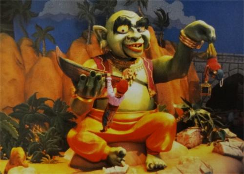 ディズニーのトリビア・裏話・雑学_「シンドバッド・ストーリーブック・ヴォヤッジ」に登場する巨人の今と昔を比較してみる
