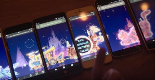 ディズニー雑学・トリビア・裏話_エレクトリカルパレードがスマホで大行進!?期間限定でスペシャルコンテンツを公開