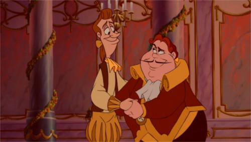 「美女と野獣」のキャラクターのビフォーアフターをチェック(ルミエールとコグスワース)