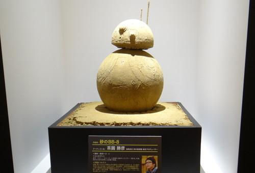 日テレタワーのスター・ウォーズ展示会_コラボ作品
