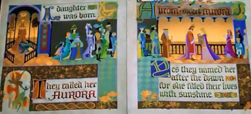 ディズニー雑学・トリビア・裏話_「塔の上のラプンツェル」に「眠れる森の美女」の隠れ絵本が登場していた