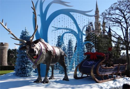 「アナとエルサのフローズンファンタジー」の準備着々と!アナ雪イベントを盛り上げるフォトロケーション_スヴェン