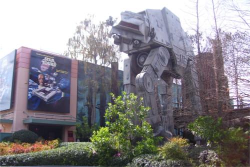 アメリカ・フロリダ州のディズニー・ハリウッド・スタジオにあるスター・ツアーズ