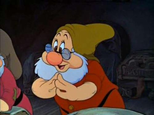 「白雪姫」の七人の小人:ドック(先生)