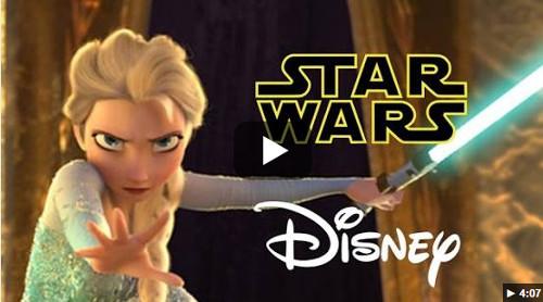 スター・ウォーズとアナ雪がコラボした動画「Let It Flow」が再生回数1,000万を超える話題に_1