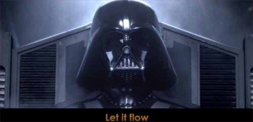 スター・ウォーズとアナ雪がコラボした動画「Let It Flow」が再生回数1,000万を超える話題に_2