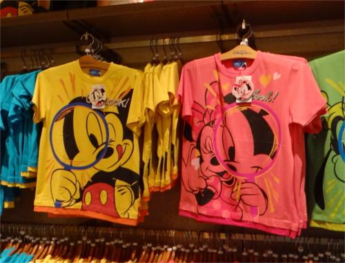 ディズニーシー15周年記念のTシャツがかわいくて全部欲しくなってくる