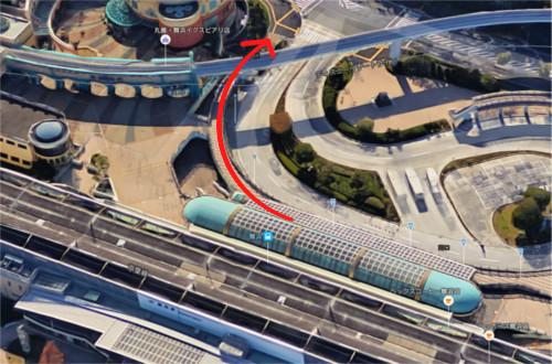 舞浜駅からディズニーシーまで歩いたらどのぐらいかかるのか