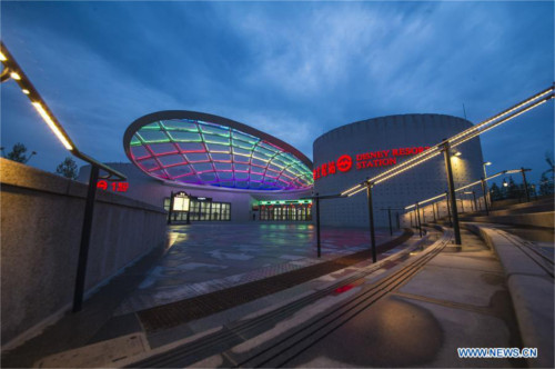 上海ディズニーの地下鉄駅「ディズニー・リゾート駅」が運行開始_3