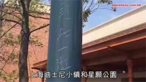 上海ディズニーリゾートの一部エリアを開放した結果・・・早速パーク内にゴミが!落書きが!糞尿が!_2