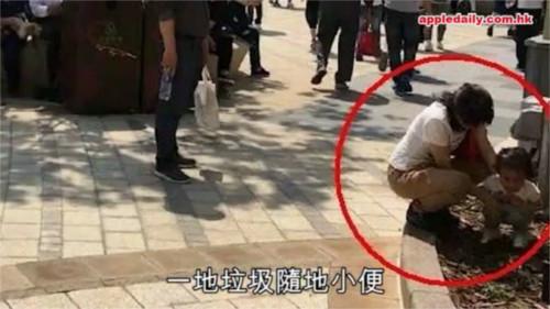 上海ディズニーリゾートの一部エリアを開放した結果・・・早速パーク内にゴミが!落書きが!糞尿が!_4