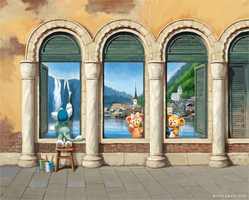 ジェラトーニが描いた絵が楽しめる「ジェラトーニのアルテ・イン・ピアッツァ」を期間限定で公開決定_2