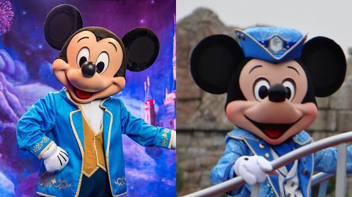 上海ディズニーランドのミッキー&ミニーの顔が公式なのに偽物感が半端ない_4