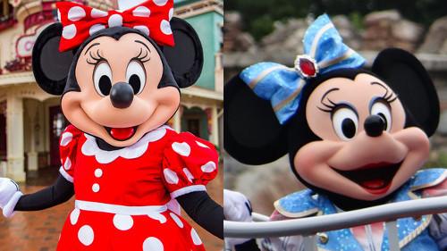 上海ディズニーランドのミッキー&ミニーの顔が公式なのに偽物感が半端ない_5