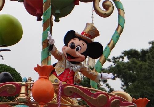 ディズニーキャラクター図鑑_ミッキーマウス(ディズニーランド30周年)